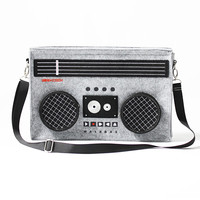 Classic 80's Boombox Bag – Graffiti Beach - Indie Brands Revealed