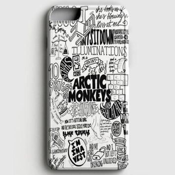 Arctic Monkeys City iPhone 6/6S Case