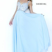 Beaded Two Straps Sherri Hill Dress 8552
