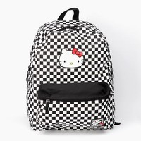VANS x Hello Kitty Backpack: Checkerboard