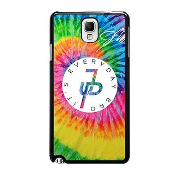 JAKE PAUL EVERYDAY BRO RAINBOW Samsung Galaxy Note 3 Case Cover