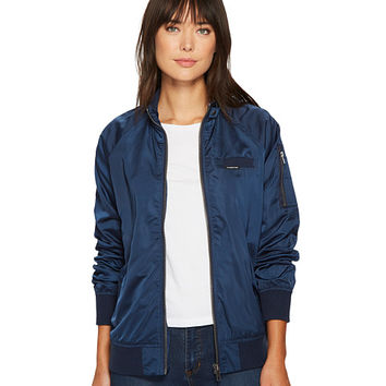 Members Only Washed Satin Ex-Boyfriend Jacket