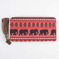 Billabong Floral Nod Wallet Red One Size For Women 23042630001