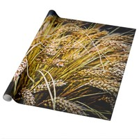 Sheaf Of Wheat - Thank You Wrapping Paper