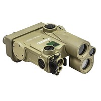 Steiner DBAL-A4 Dual Beam Aiming Laser, Green Visible, IR Illuminator Desert Tan 9016