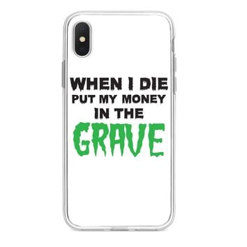 WHEN I DIE CUSTOM IPHONE CASE
