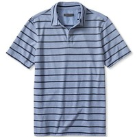 Banana Republic Mens Micro Stripe Jersey Polo