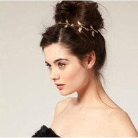 YouMap Baroque Peace Olive Branch Leaf Headband Hairband For Women Wedding Headpiece Accessories A9R11C