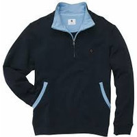 Southern Proper Navy Pullover