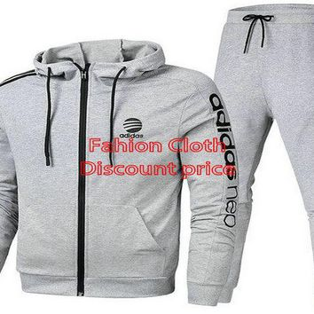 Adidas Long Sleeve Suit On Aliexpress Grey