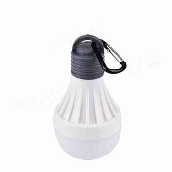 Soft 1W Portable Hanging 3modes LED Ball Camping Tent Light Bulb Outdoor Camping Fishing Hiking Lantern survival Night Lamp