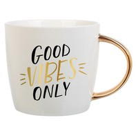 Slant Collections Good Vibes Only Ceramic Mug | Nordstrom