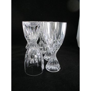 Lead Crystal Goblets S/8