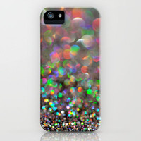 Party Bokeh Party iPhone Case by Lisa Argyropoulos | Society6