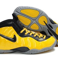 Nike Air Foamposite Pro Yellow/Black Sneaker Size US8-13