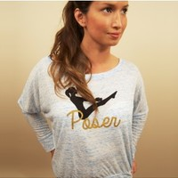 Poser Marble Flowy Long Sleeve