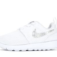 Girls' Nike Roshe One - Crystallized Swarovski Swoosh - Infant/Toddler (2c-10c) - White