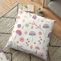 'Soft magical spring' Floor Pillow by cocodes