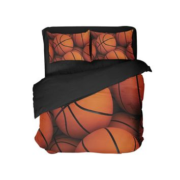 Basketball Pillow Case Sham from Extremely Stoked Sports Bedding