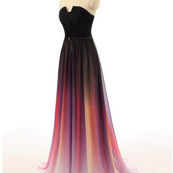 Best Ombre Prom Dress Products on Wanelo