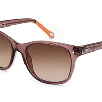 Fossil - Neely Cat Eye Brown Sunglasses
