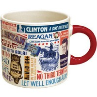 Presidential Slogan Mug - Whimsical & Unique Gift Ideas for the Coolest Gift Givers