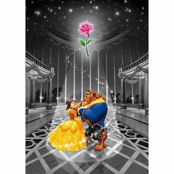 5D Diamond Painting Beauty and the Beast Rose Kit