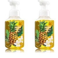 Bath & Body Works Gentle Foaming Hand Soap in Golden Pineapple Luau (2 Pack)