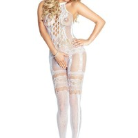 Provocative Bridal Bodystocking PR4668