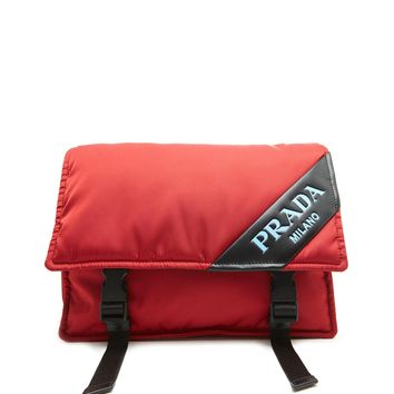 Nylon Messenger Bag by Prada