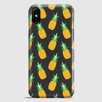 Pineapple Tumblr iPhone X Case