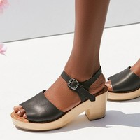 Krista Wooden Heel Sandal | Urban Outfitters