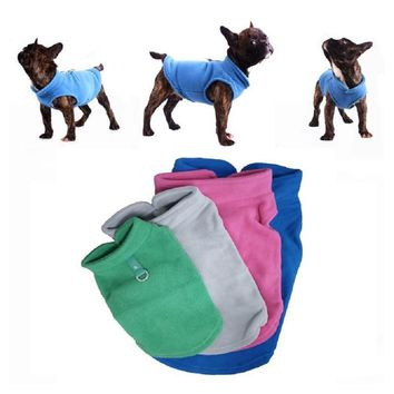 Winter Fleece Pet Coat for Dogs Puppy Clothing Jacket For Small Dogs  Warm Pets