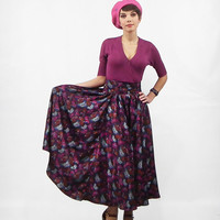 Maxi Skirt, Long Skirt, Full 50's Skirt, Circle skirt, Pleated Skirt, Tea Length Skirt, Long Dress, Full 1950's Dress