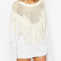 Wildfox Tawny Lucky Charm Jumper