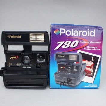 Rare Polaroid 780 Instant Film Camera Takes 600 Film and Impossible Project Film!