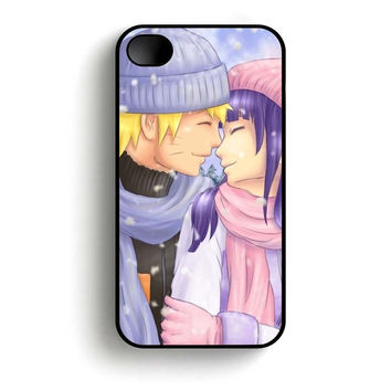 Cute Naruto Couple Kiss  iPhone 4 and iPhone 4s case