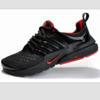 NIKE new leisure sports shoes Black and red