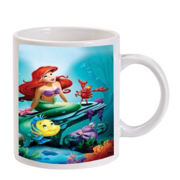 Gift Mugs | Disney The Little Mermaid Ariel Ceramic Coffee Mugs