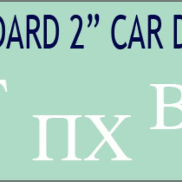 Recruitment Council - Car Decal
