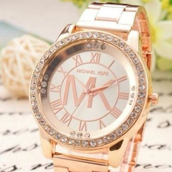 PEAPON MICHAEL KOR WATCHES WOMENS/MENS MK WATCH ROSE GOLD
