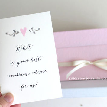 Pink Alternative Guest Book Set - Conversation Starters