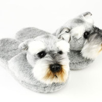 Schnauzer Slippers | Dog Slippers | BunnySlippers.com
