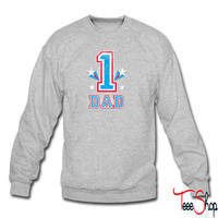 #1 Dad sweatshirt