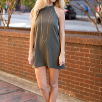 Kylie Dress - Olive