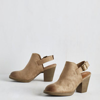 Devoted to Haute Bootie in Taupe