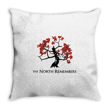 the north remembers 2 Throw Pillow