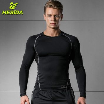 Sports T-Shirt Man Long Sleeve Compression Shirt Quick Dry Fitness Men Running Sportswear Workout Traning Rashgard Gym t Shirts