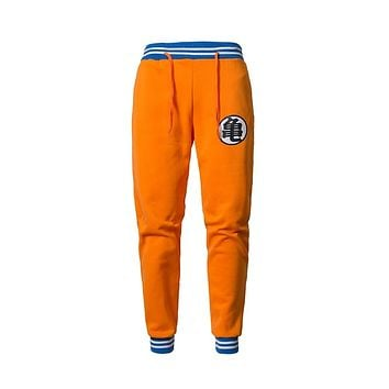 Anime Dragon Ball Z GOKU Sweatpants Casual Exercise Trousers Men