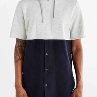 Charles & 1/2 Hooded Oxford Button-Down Shirt